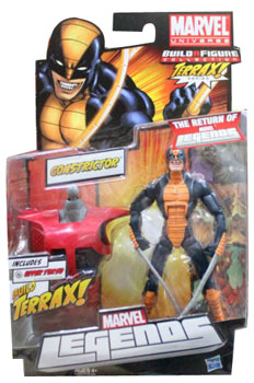 Marvel Legends 2012 - BAF Terrax - Constrictor