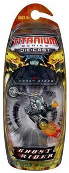 3-Inch Titanium: Ghost Rider on Cycle