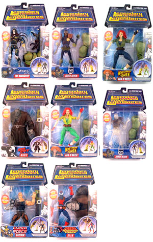 Legendary Heroes Series 2 Set of 8