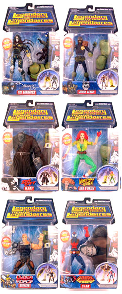 Legendary Heroes Series 2 Set of 6