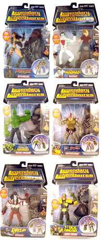 Legendary Heroes - Series 1 Set of 6