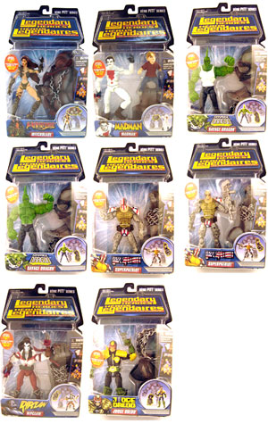 Legendary Heroes Series 1 Set of 8