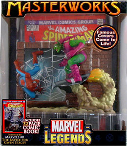 Spiderman VS. Green Goblin Masterworks
