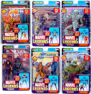 Marvel Legends Series 12 Variant Set of 6
