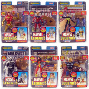 Marvel Legends Series 15 Set of 6 - BUILD MODOK