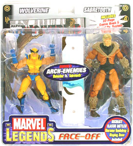Face-Off: Wolverine Vs Sabretooth