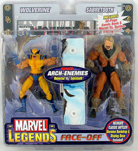 Face-Off: Wolverine vs Sabertooth Variant