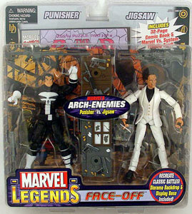 Face-Off: Punisher Vs Jigsaw Variant