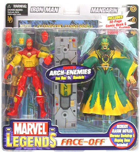 Face-Off: Iron Man Vs Mandarin
