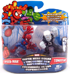 Super Hero Squad - Spider-Man and Tombstone