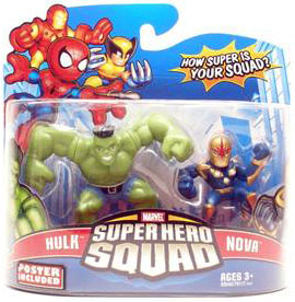 Super Hero Squad - Hulk and Nova