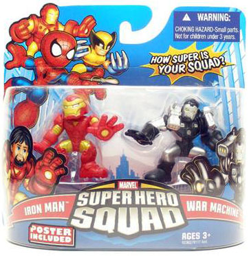 Super Hero Squad - Iron Man and War Machine