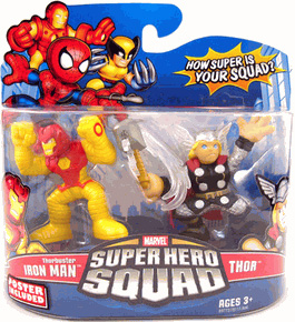 Super Hero Squad - Thorbuster Iron Man and Thor