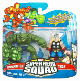 Super Hero Squad - Thor and Abomination