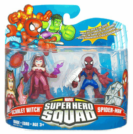 Super Hero Squad - Spider-Man and Scarlet Witch