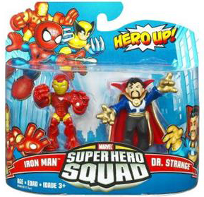 Super Hero Squad - Iron Man and Dr Strange