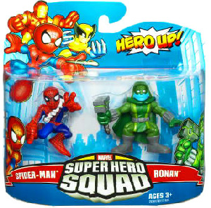Super Hero Squad - Spider-Man and Ronan