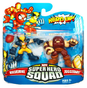Super Hero Squad - Wolverine and Juggernaut