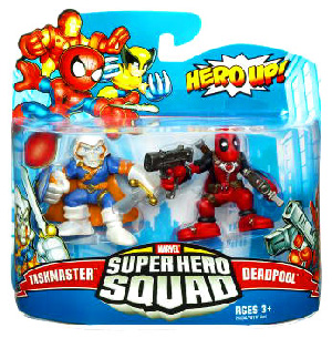 Super Hero Squad - Taskmaster and Deadpool
