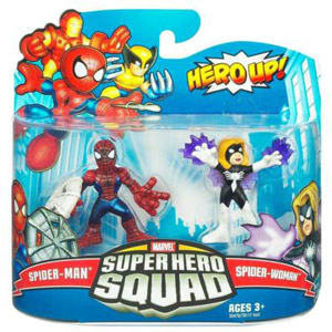 Super Hero Squad - Spider-Man and Spider-Woman