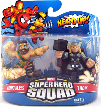 Super Hero Squad - Hercules and Thor