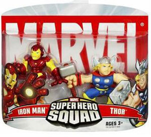 Super Hero Squad: Iron Man and Thor