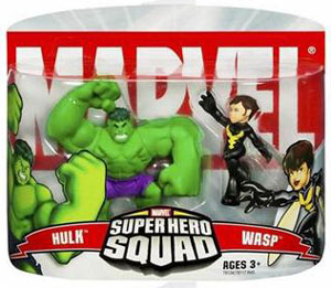 Super Hero Squad: Hulk and Wasp