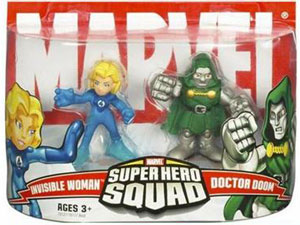 Super Hero Squad: Invisible Woman and Dr Doom