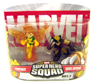 Super Hero Squad: Wolverine and Phoenix