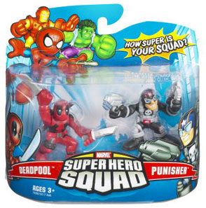 Super Hero Squad - Deadpool and Punisher