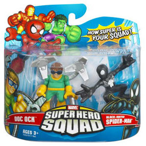 Super Hero Squad - Doc Ock and Black-Suited Spider-Man