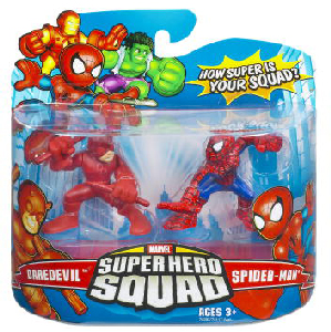 Super Hero Squad - Daredevil and Spider-Man