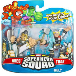 Super Hero Squad - Ares and Thor