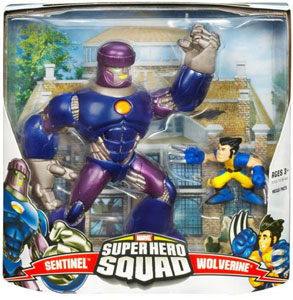 Super Hero Squad Mega Pack: Sentinel and Wolverine