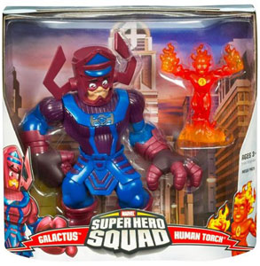 Super Hero Squad Mega Pack: Galactus and Human Torch