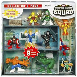 Super Hero Squad Collector Pack