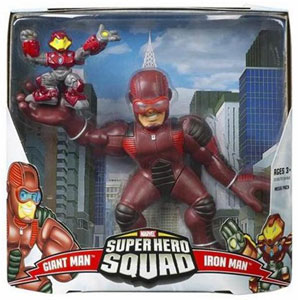 Super Hero Squad Mega Pack: Giant Man and Iron Man