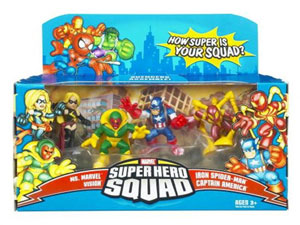 Super Hero Squad: Avengers Assemble 4-Pack
