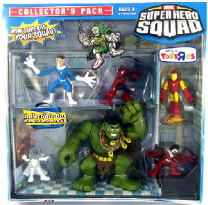 Super Hero Squad Squad - Hulk Collectors Pack Exclusive