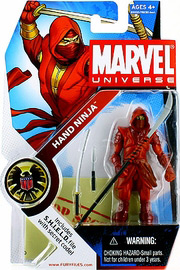 Marvel Universe - Red Hand Ninja
