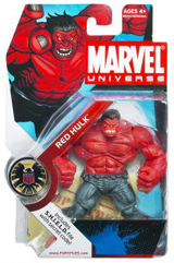 Marvel Universe - Red Hulk