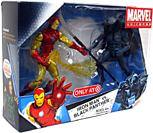 Marvel Universe - 2-Pack - Iron Man Vs Black Panther