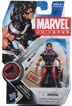 Marvel Universe - Original Warpath Variant