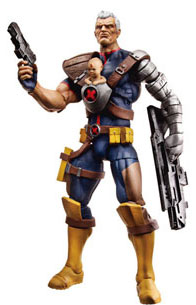 Marvel Universe - Cable with Baby Hope