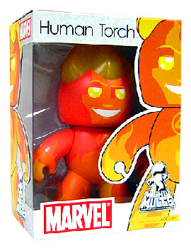 Mighty Muggs - Human Torch