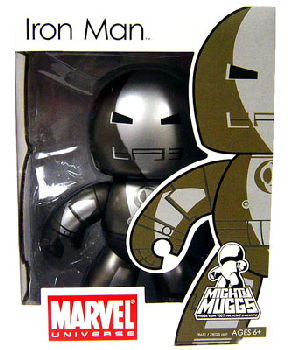 Mighty Muggs - Iron Man Prototype Armor Mark I