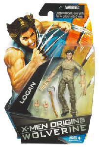 Wolverine Origins: Logan with Bone Claws