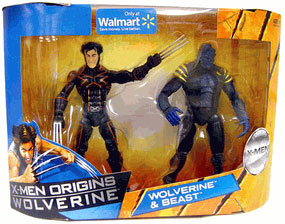 Wolverine Origins: Wolverine and Beast 2-Pack