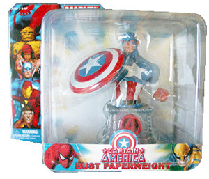 Marvel Bust Paperweight - Captain America
