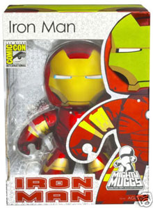 SDCC Mighty Muggs - Iron Man